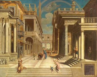 APPARITION OF THE SIBYL TO EMPEROR AUGUST
