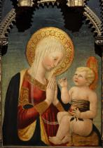 MADONNA AND CHILD WITH POMEGRANATE