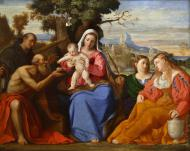 MADONNA AND CHILD WITH SAINTS (HOLY CONVERSATION)