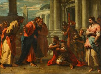 CHRIST HEALS THE CENTURION