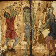 THE FLAGELLATION OF CHRIST